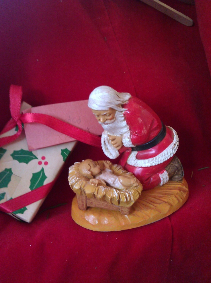 Santa worshipping the Christ Child: Christ Child, Santa Worship, Naviti Sets