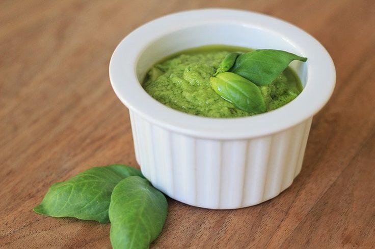 Zelf maken: Klassieke groene pesto