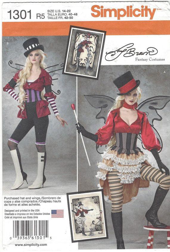 Amy Brown Womens Steampunk circo trajes simplicidad por CloesCloset