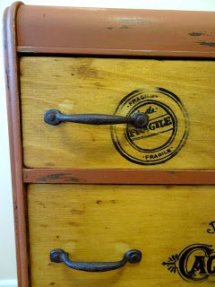 Crate Dresser by Oliver Treasures