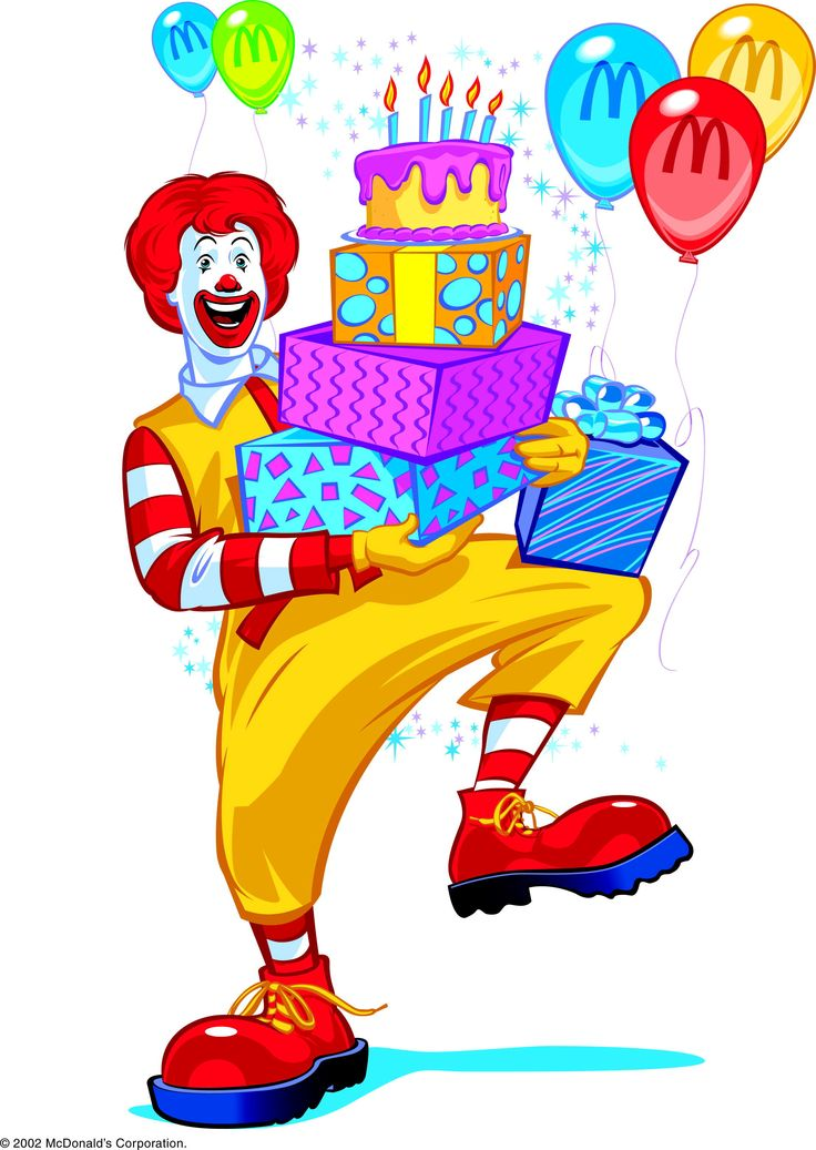 Happy birthday ronald mcdonald l ol
