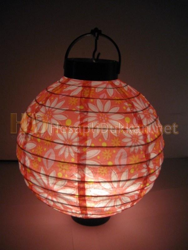 ışıklı pilli kağıt fenerler – Kırmızı AL137 | Ucuz ve toptan ürünler