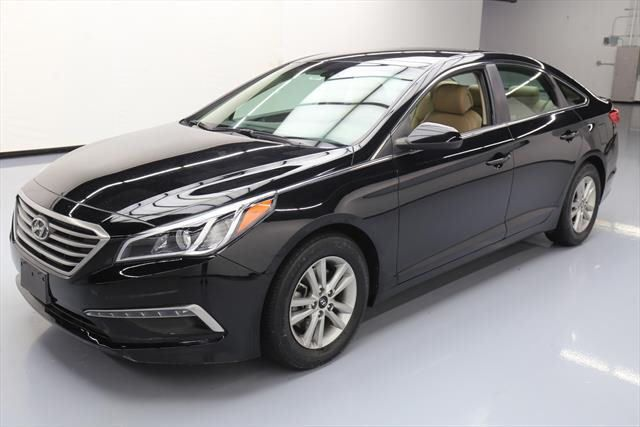 Cool Great 2015 Hyundai Sonata  2015 HYUNDAI SONATA SE LEATHER REAR CAM BLUETOOTH 44K #003897 Texas Direct Auto 2018