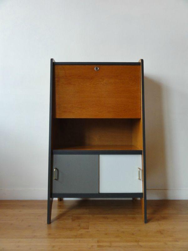 17 meilleures id es propos de meuble ann e 60 sur pinterest relooking meuble avant apr s. Black Bedroom Furniture Sets. Home Design Ideas
