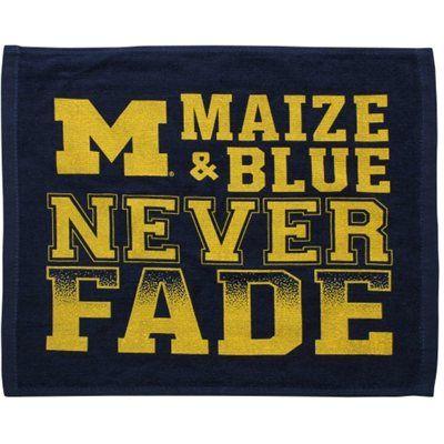 Michigan Wolverines 15'' x 18'' Rally Towel - Navy Blue