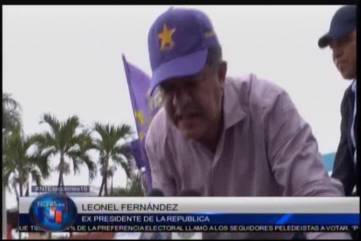 Leonel Fernández Habla Sobre El Conteo Manual De Los Votos Para Las Elecciones