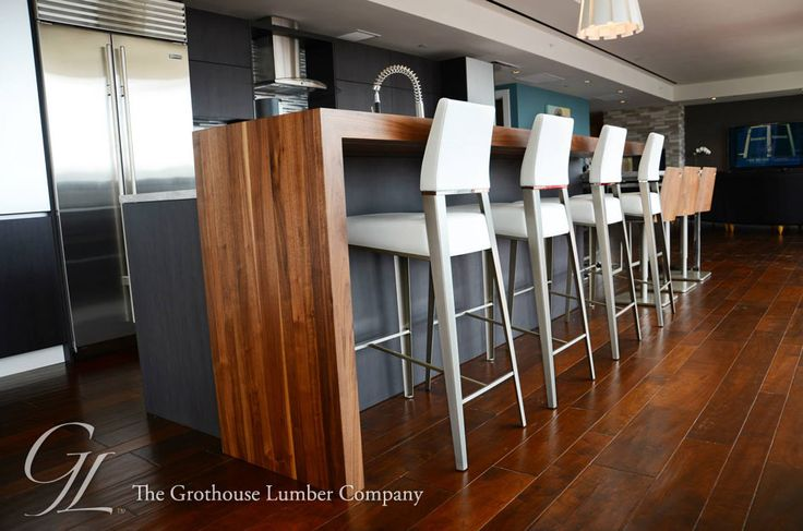 Featured project of the week, Custom Walnut Wood Pastore™ Countertop in Pittsburgh, PA https://www.glumber.com/