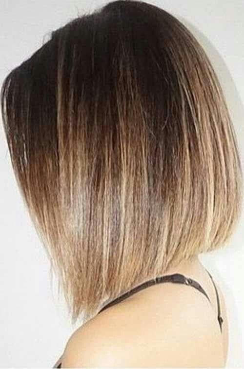 Medium Bob Hairstyles Stunning 112 Best Cortes Images On Pinterest  Short Films Make Up Looks And