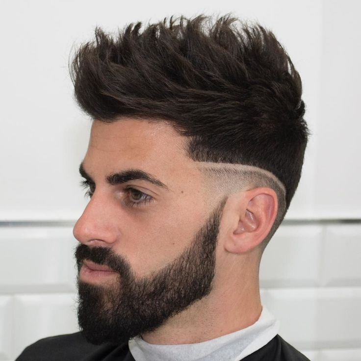 2016 2015 mens hairstyles with beard oval face