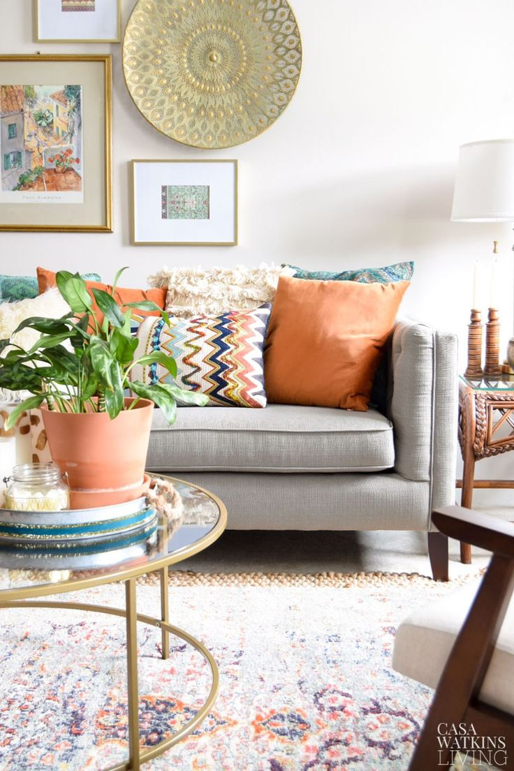 Fall decorating tips for global style living room for Living room styling tips