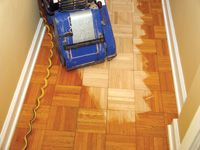 Step by Step: Sanding & Finishing Parquet Wood Flooring