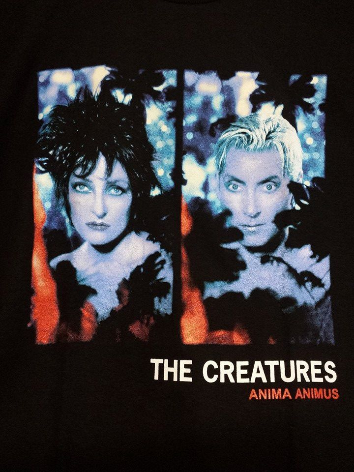 The CREATURES T-Shirt Siouxsie and the Banshees 1999 album ANIMA ANIMUS. New! Tradgoth Gothic Deathrock by MEOWMEOWZrocks on Etsy