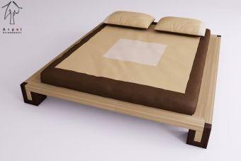 Il letto giapponese bali è realizzato in faggio lamellare ed è privo di parti metalliche , il montaggio avviene tutto ad incastro come nella tradizione giapponese.      Il letto nella versione standard è alto cm 24     Disponibile in varie misure , con varie tinte di colore .