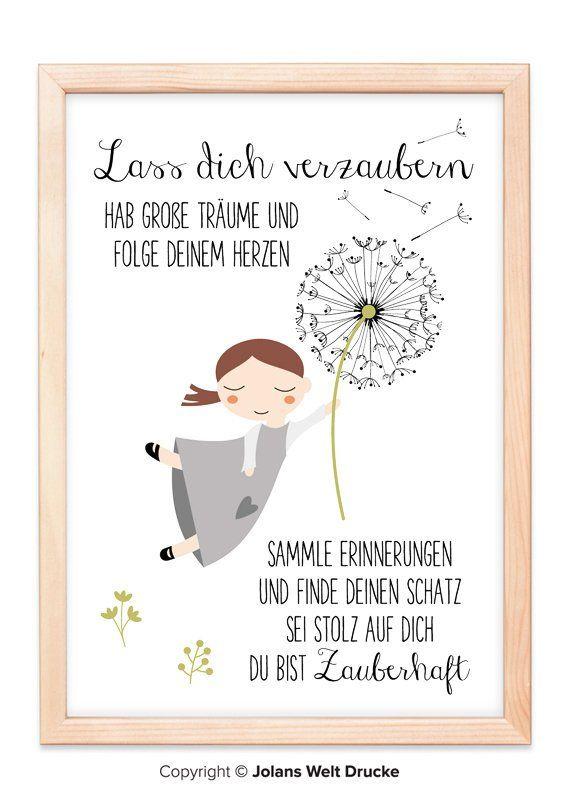 DANDELION von Jolanswelt Kunstdrucke, Poster, Geschenk, Deko ...