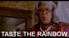 Madea Funny Quotes | ... skittles candy candy gif funny gif funny madeas witness protection