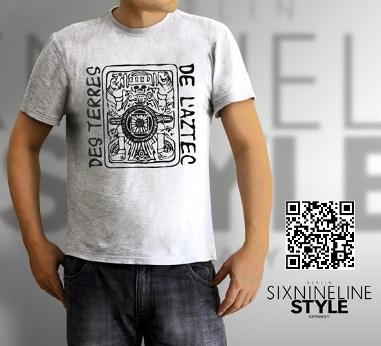 Des Terres De L'Aztec T-Shirt http://www.spreadshirt.de/des-terres-de-l-aztec-black-C4408A19153877