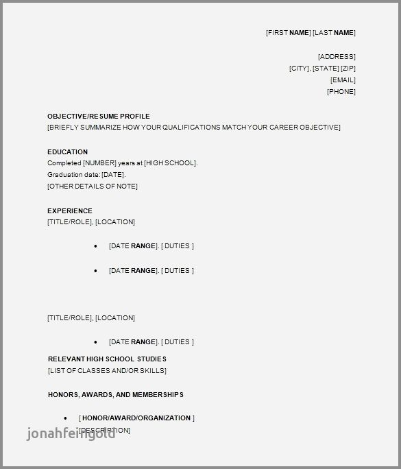 70 Cool Images Of Resume Examples For High School Education Section Check More At Https Www Ourpetscrawley Com 70 Cool Images Of Resum Proposal Surat Tulisan