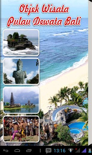 """Objek Wisata Pulau Dewata Bali""<p>Pulau Bali, inilah pulau yang paling terkenal di Indonesia. Tempat mengagumkan yang menyimpan gabungan keindahan lanskap alam spektakuler dan budaya yang begitu memikat. Bali dikenal dengan sebutan pulau dewata, pulau seribu pura, atau pulau surga. Keindahan alam luar biasa, seperti gunung berapi yang tampak dekat dan besar, sawahnya yang menghampar hijau memberikan rasa damai dan ketenangan, serta butiran pasir dan keindahan lautnya yang…"