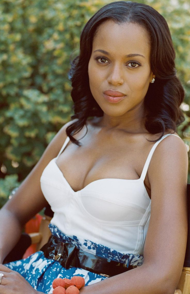 Kerry Washington Without Makeup