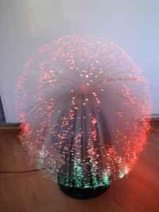 fiber-optic lamps!