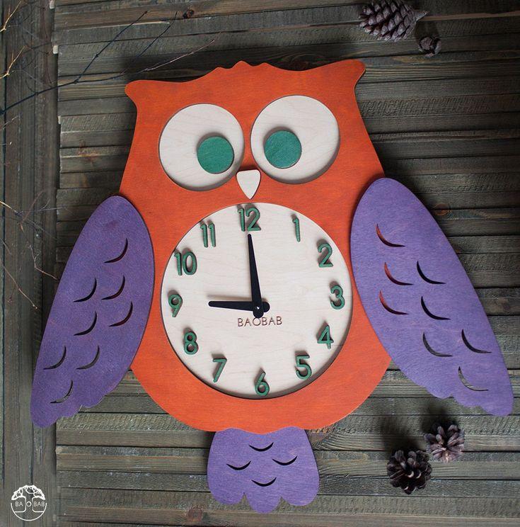"""Настенные часы """"Owl"""""""