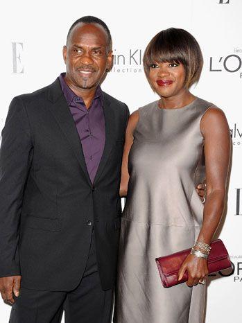 Julius Tennen and Viola Davis Elle, 10/18/2011   The Hollywood Reporter