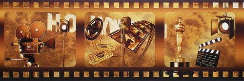 movie reel wallpaper border - photo #17
