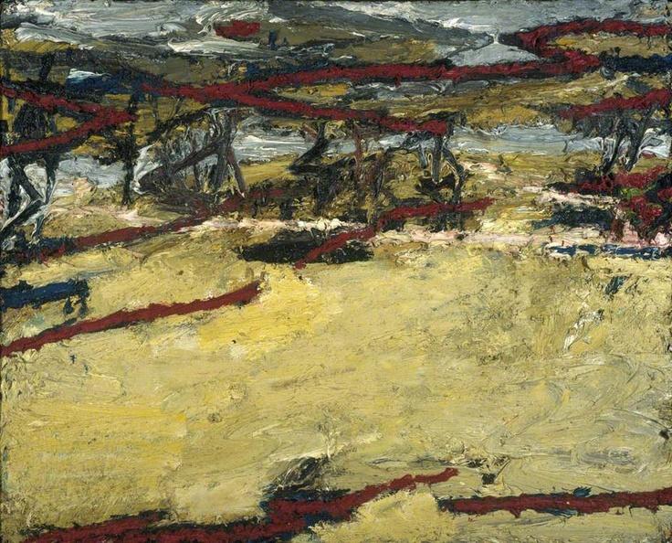Frank Auerbach: Primrose Hill: Spring Sunshine