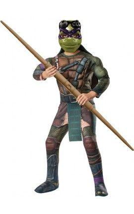 disfraz de donatello musculoso tortugas ninja movie para nio