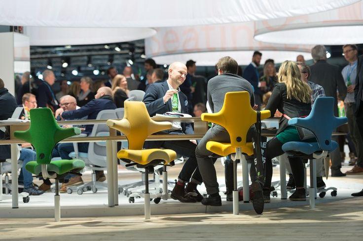 HÅG Capisco - Stockholm Furniture Fair #event #Scandinavia #design #InspireGreatWork #2017 #furniture