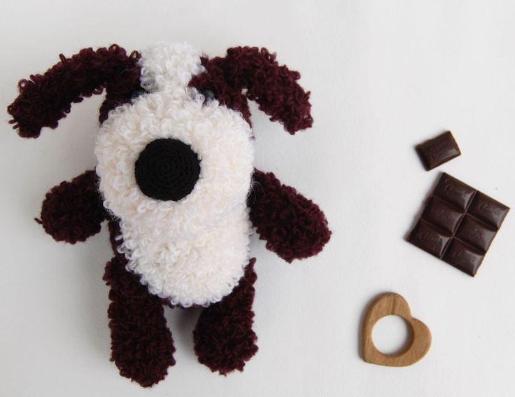 Amigurumi beagle Dog Crochet toy Stuffed animal by RomeoShop on Etsy