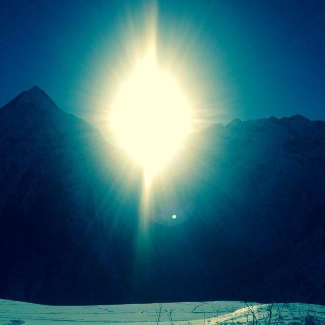 La montagne / février 2015 @2alpes