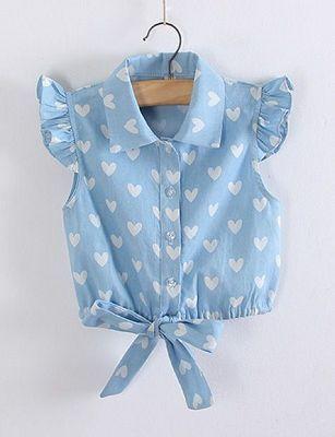 c24b0fec54 Blusa cropped com botões - DIY- marlene mukai - molde infantil ...