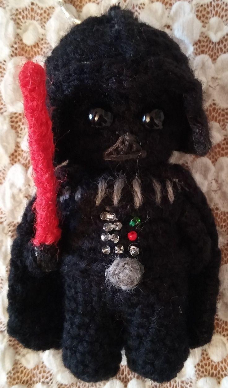 Darth Vader. Amigurumi. Uncinetto. Crochet.