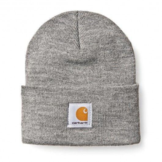 Carhartt Acrylic Watch Hat heather grey bonnet à revert 20€ #carhartt #carharttwip #carharttworkinprogress #workinprogress #bonnet #beanie #winter #skate #skateboard #skateboarding #streetshop #skateshop @PLAY Skateshop