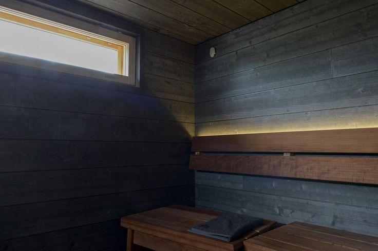saunan väriä miettiessä..