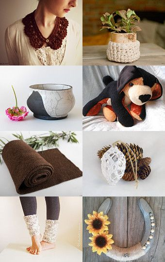 #Earth by Anita T. on Etsy  #brown #chocolate #puppy #dog #handmade #doberman #rottweiler #dachshund #horseshoe #goodluck #homedecor