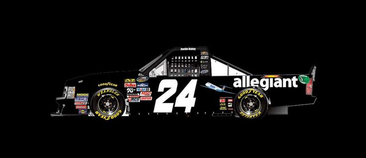 Paint Scheme Preview: Pocono and Texas  Wednesday, June 7, 2017  Justin Haley will drive the No. 24 Allegiant Travel Chevrolet.   Photo: 21 / 25