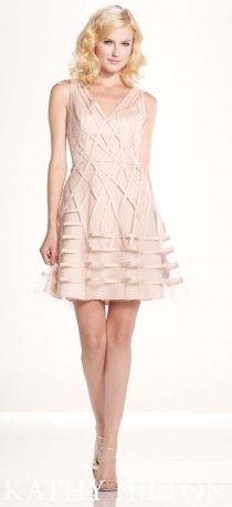 Açık renk kısa abiye modeli , Kathy Hilton
