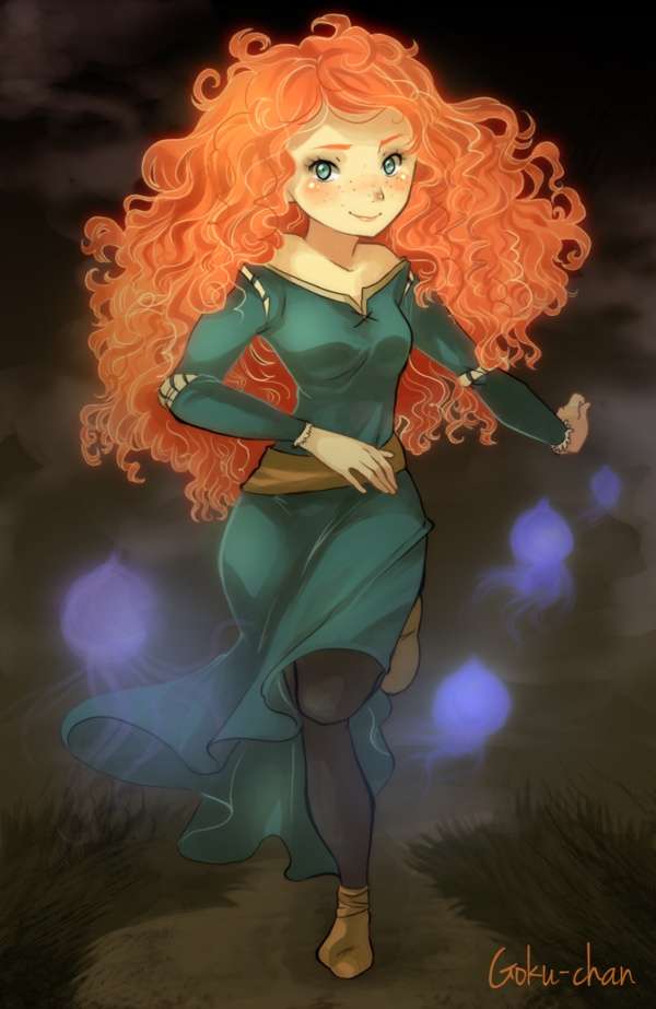 Brave : Merida by *Goku-chan on deviantART