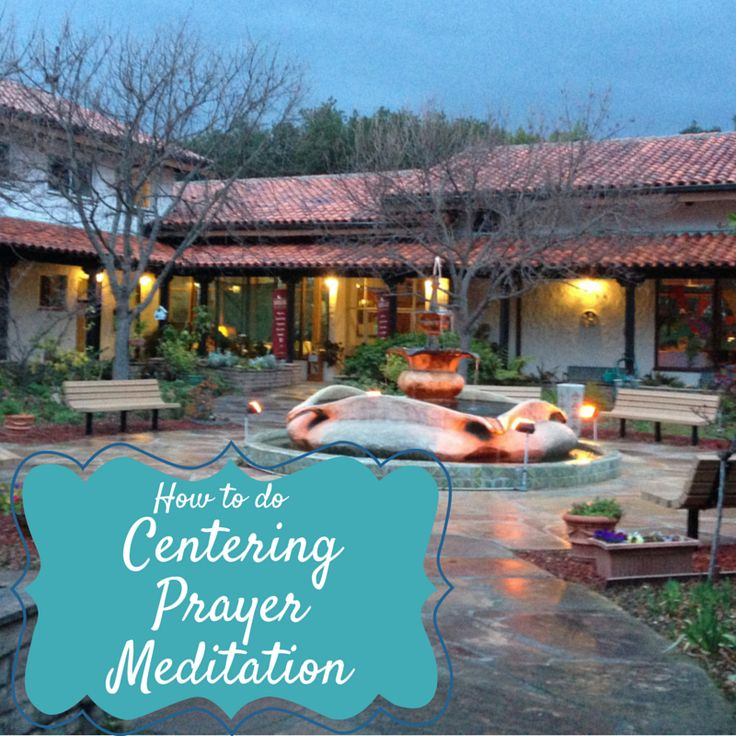 This post focuses on how to do a centering prayer meditation, including a link to a video that will walk you through an easy meditation.