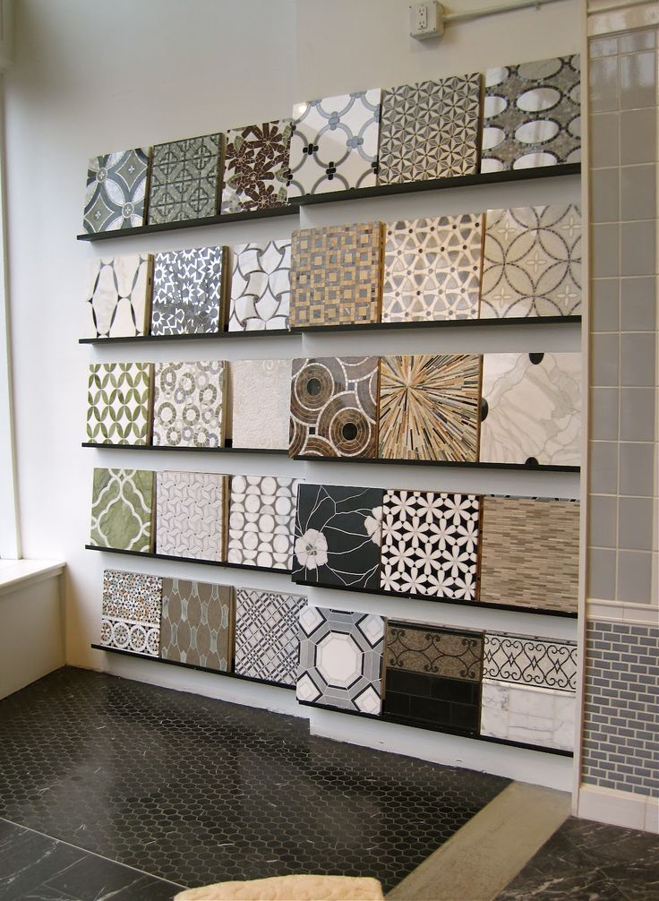 11 Best Tile Display Ideas Images On Pinterest Display