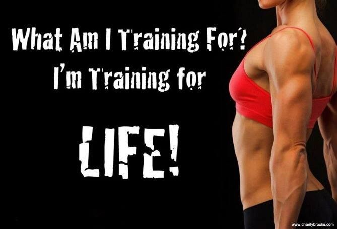 Train for your life!  #fit #fitfab #fitness #fitoverfat