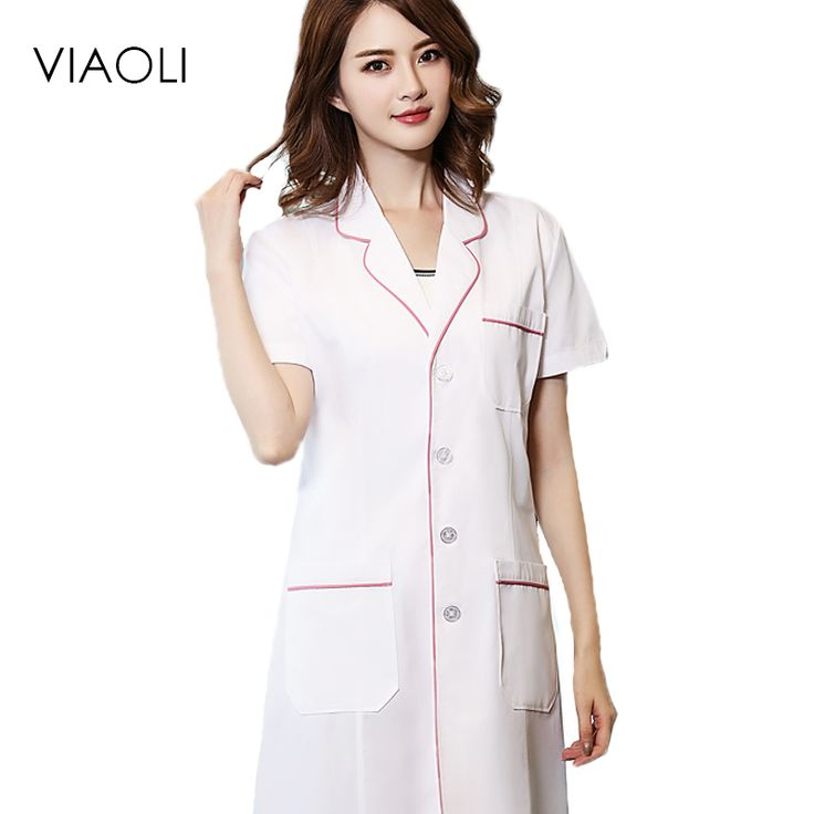 Nurses wear summer short-sleeved suit collar fashion doctors white coat beauty salon pharmacy uniforms Slim Color decoration. Yesterday's price: US $25.86 (21.13 EUR). Today's price: US $18.36 (15.12 EUR). Discount: 29%.