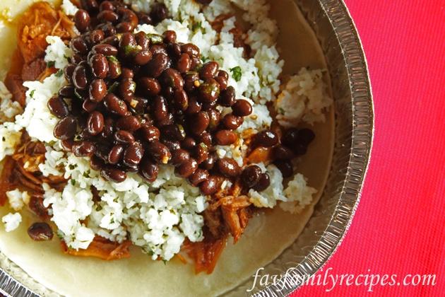 Cafe Rio / Costa Vida Cilantro Lime Rice and Black Beans