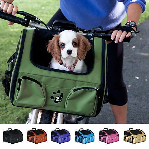 Pet Gear Bike Basket 3-in-1 Car Seat / Carrier / Bike Basket for Cats and Small Dogs, 14-inches, Tan Vehicles Parts Vehicle Parts Accessories Motor Vehicle Exterior Motor Vehicle Carrying Rack Accessories Vehicle Bicycle Rack Accessories