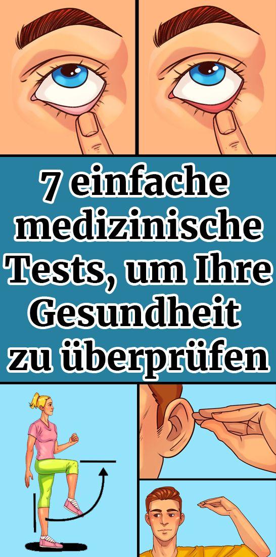 7 einfache medizinische Tests, um Ihre Gesundheit zu überprüfen – Carla Elke
