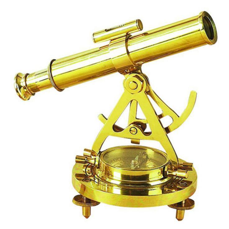 DecMode Telescope Compass Sculpture - 28147