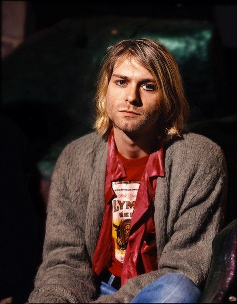The incredibly handsome Kurt Donald Cobain