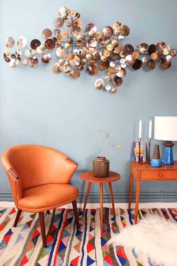 Tapis coloré pour ajouter du dynamisme à un intérieur
